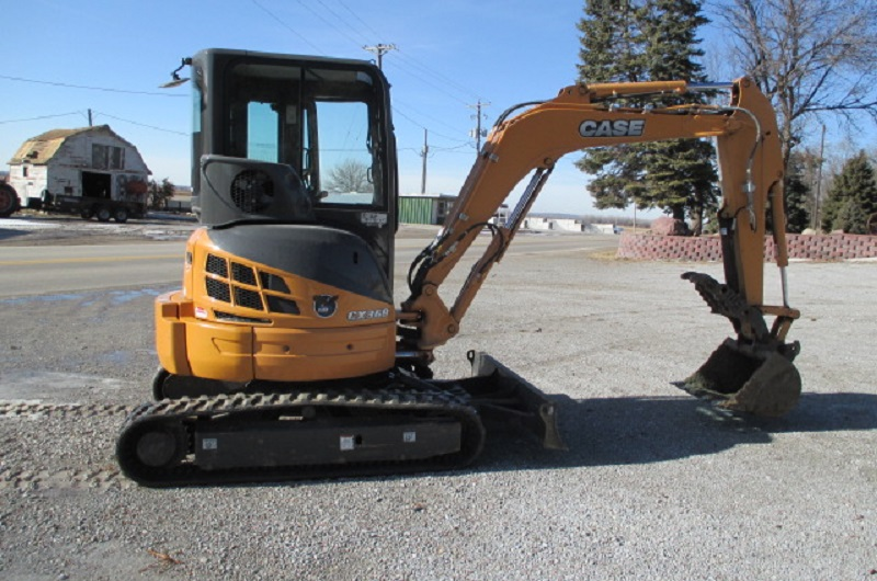 2014 Case CX36B Mini Excavator